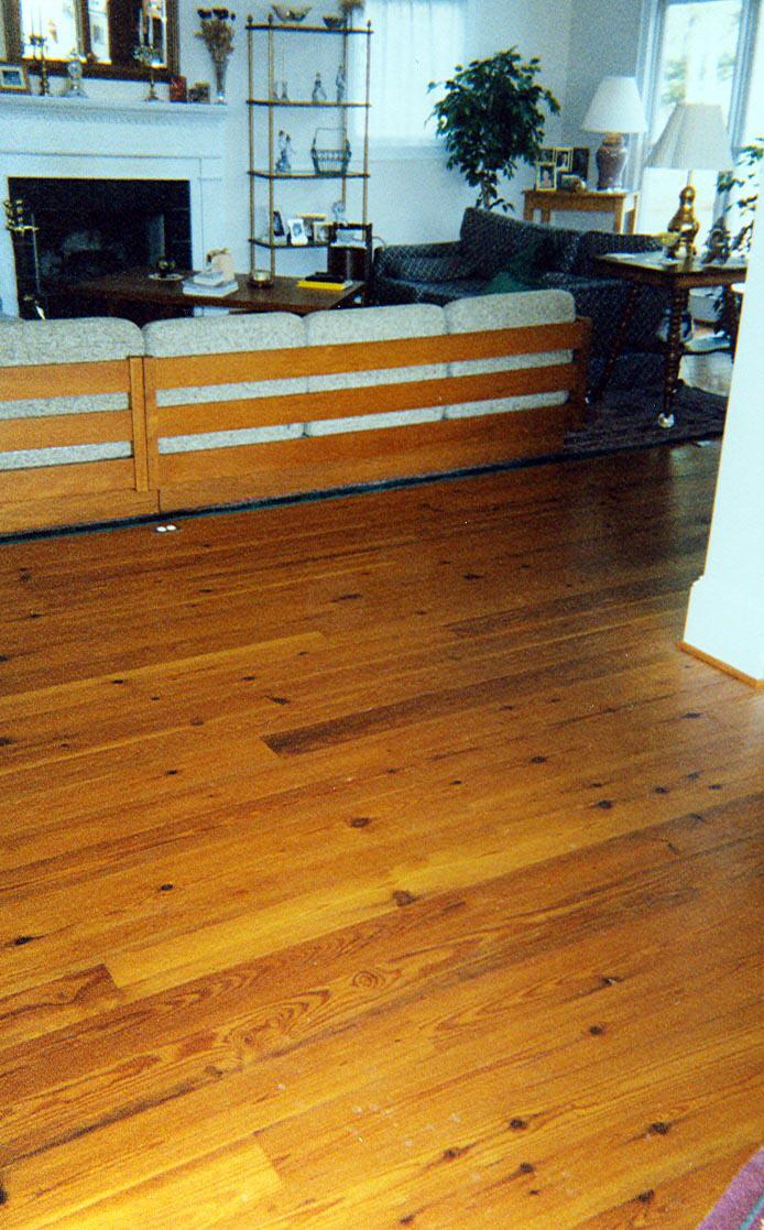 Morris Farms Cypress Sawmill Flooring